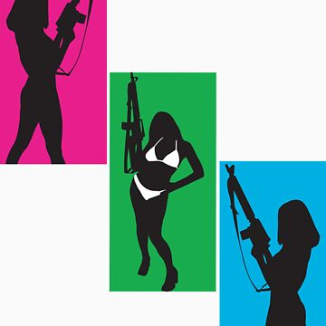 Girls With Guns by gagman