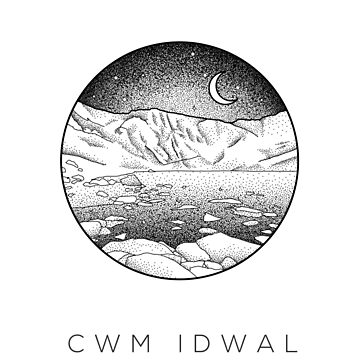 Cwm Idwal - Snowdonia, North Wales Dotwork by typelab