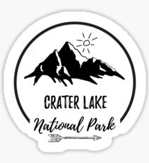 Crater Lake Oregon Sticker