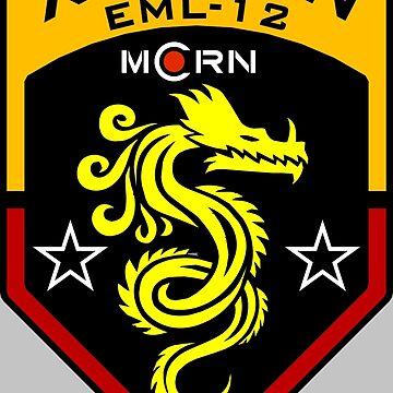 MCRN Xuesen crest.  by Tzsycho