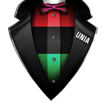 Unia Flag  Roots DNA and Heritage Tuxedo by nikolayjs