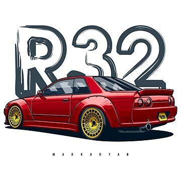 Skyline R32 GTR by OlegMarkaryan