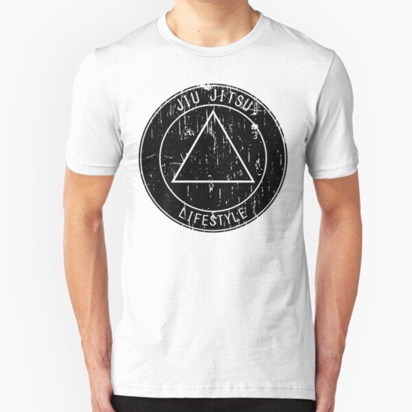 Jiu Jitsu Lifestyle Triangle Slim Fit T-Shirt