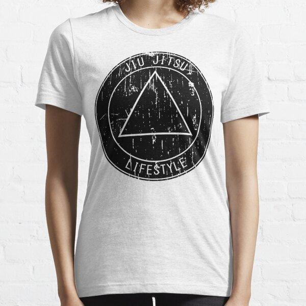 Jiu Jitsu Lifestyle Triangle Essential T-Shirt