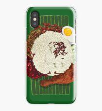 """Malaysian Coconut Rice - """"Nasi Lemak"""" iPhone Case"""