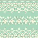 Minty Lace Border by abbilaura