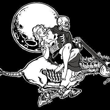 Death and the Maiden: cartoon by ZugArt