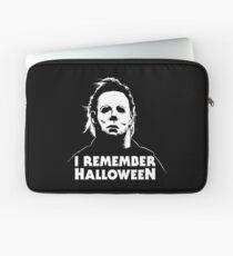 I Remember Halloween - Michael Myers Laptop Sleeve