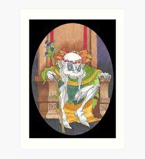 Elf King Art Print