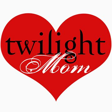Twilight Mom Heart T-Shirt by fifilaroach