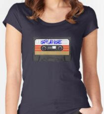 Grunge Music Women's Fitted Scoop T-Shirt