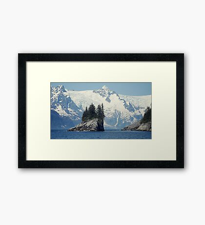 The Guardian of Cataract Cove... Framed Print