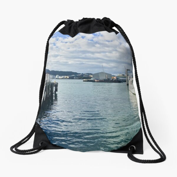 Wellington Waterfront Drawstring Bag