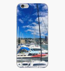 Yachts And Masts iPhone Case