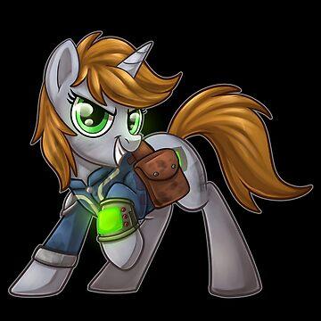 Fallout Equestria Little Pip by Sciggles