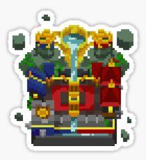 Clash Royale pixels Sticker