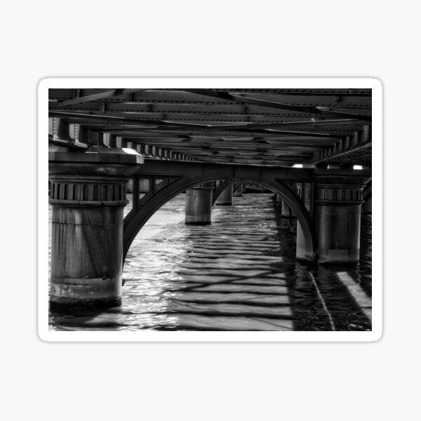 Under A Bridge Sticker
