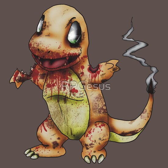 TShirtGifter presents: Zombie Charmander