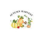 Autumn Harvest with Pumpkins & Gourds by Ann Drake