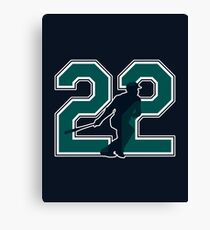 22 - Canó (original) Canvas Print
