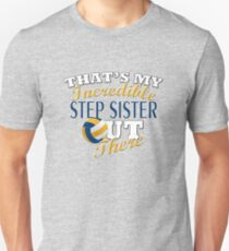 Volleyball Step Sister or Brother Gift Unisex T-Shirt