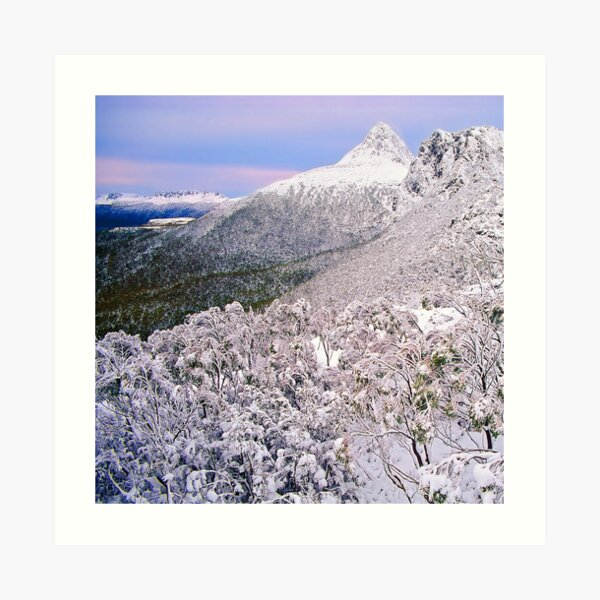 Winter, the Ducane Range Art Print