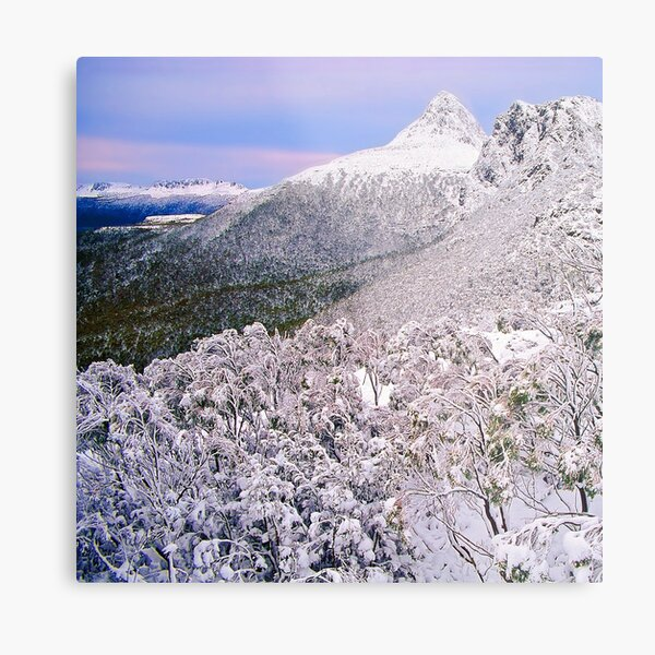 Winter, the Ducane Range Metal Print