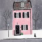 Winter Town House by Kerina Strevens