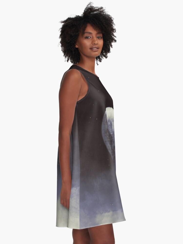 Alternative Ansicht von MOND A-Linien Kleid