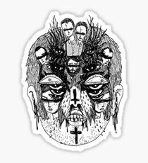The Cursed. Sticker