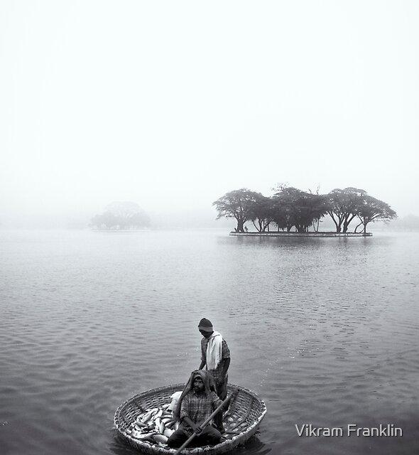 Morning's catch by Vikram Franklin