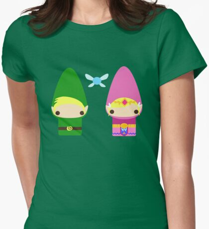 Gnome Link and Zelda T-Shirt