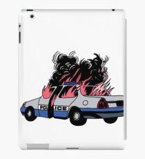 Vinilo o funda para iPad Joder a la policía