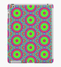 60s inspired print | Colorful Abstract | Colorful Print Pattern iPad Case/Skin