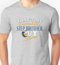 Volleyball Step Brother or Sister Gift Unisex T-Shirt