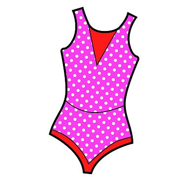 Swimsuit. Pop art image. by ivector