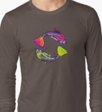PISCIS GUPPIES TWO Long Sleeve T-Shirt