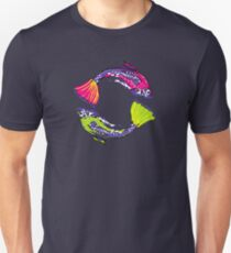 PISCIS GUPPIES TWO Unisex T-Shirt