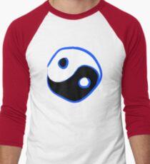 YING YANG Men's Baseball ¾ T-Shirt