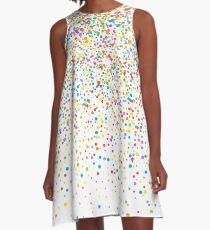 Konfetti A-Linien Kleid