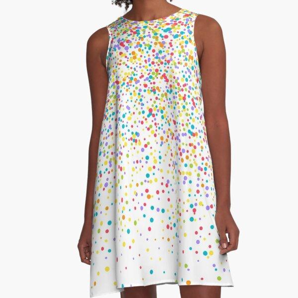 Confetti A-Line Dress
