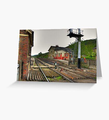 Levisham Station Greeting Card