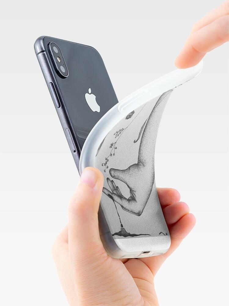 Alternative Ansicht von Gottes Hand iPhone-Hülle & Cover