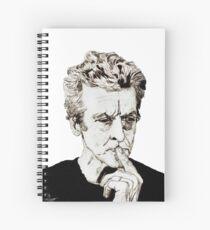 Capaldi Spiral Notebook