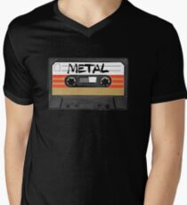 Heavy metal Music band logo Men's V-Neck T-Shirt