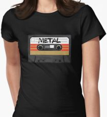 Heavy metal Music band logo Women's Fitted T-Shirt