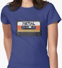 Heavy metal Music band logo Womens Fitted T-Shirt