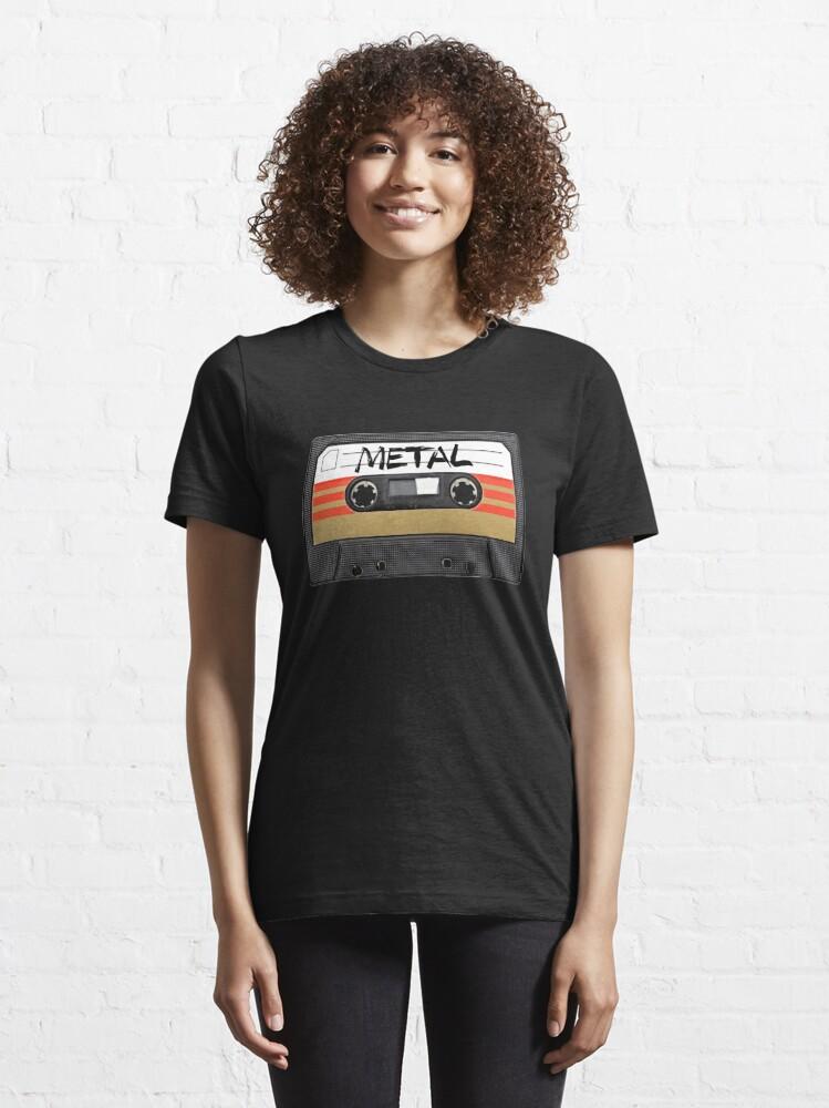 Alternate view of Heavy metal Music band logo Essential T-Shirt