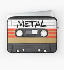 Funda para portátil Heavy metal Music band logo