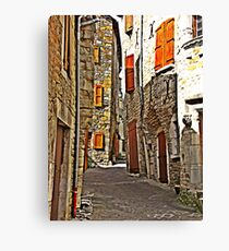 History of France. Canvas Print